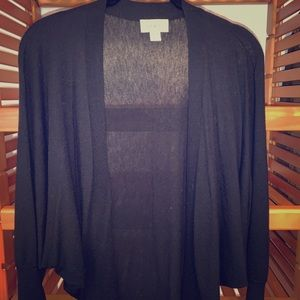 Loft XS/S Black Loose Fitted Sweater